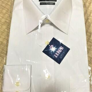 新品 未使用 東レ 未来世紀21 ワイシャツ 長袖(白)