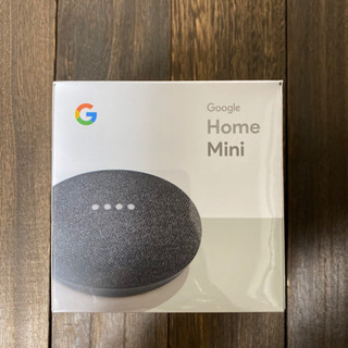 Google Home Miniチャコール 新品未開封