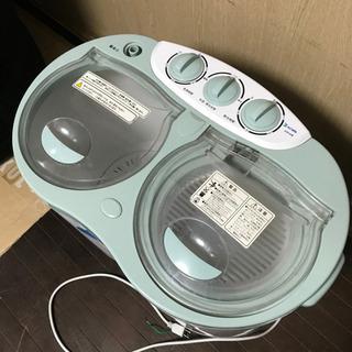 アルミス 二層式小型洗濯機 NEW晴晴 脱水機能搭載 AHB-0...