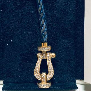 FRED YG ダイヤ ブレスレット