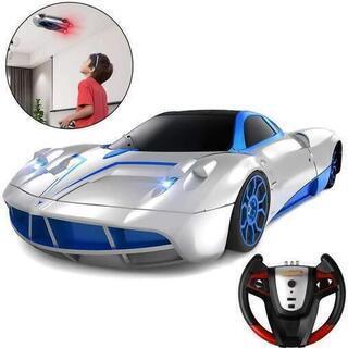 新品未使用 ラジコンカー 車のおもちゃ 壁を走る車 無線操作 こ...