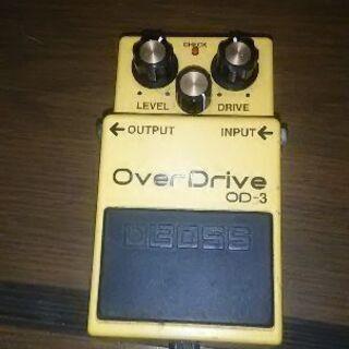 ボス■ギター用エフェクター ■オーバードライブOD-3値下…