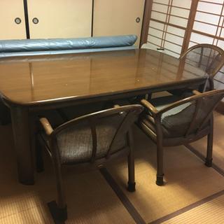 カリモクのダイニングテーブル