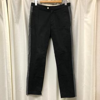 【無料】パンツ アーバンリサーチ ブラック サイドライン メンズ...