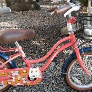 ☆只今、お取引中☆女の子  子供自転車  16インチ