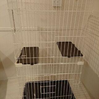 ネコのゲージ 2段型