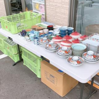 大量の器とかコップ 1つ10円で 熊本リサイクルショップen