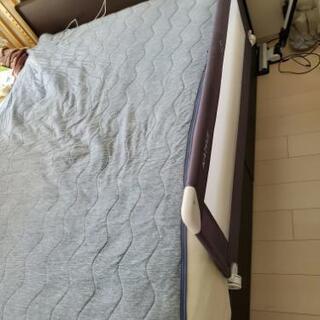 ニトリ収納付きベッドセミダブル(マットレス付き)