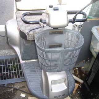 スズキ3輪セニアカーバッテリー交換必要。