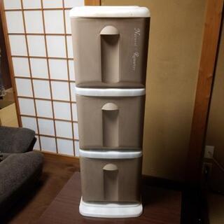 三段ゴミ箱