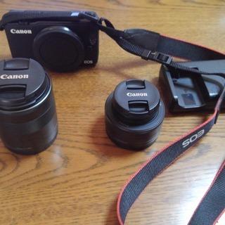 CANON ミラーレス一眼 M10 標準レンズ+パンケーキレンズ