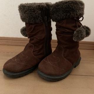 女の子用ブーツ 18 cm