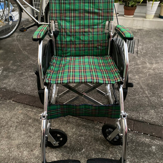 折畳み車椅子差し上げます(お譲り先決まりました)