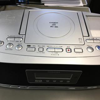 訳あり 東芝製CDデッキ TY-CWX80
