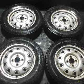 165/70R14 スタッドレス ダンロップWM01 100-4...