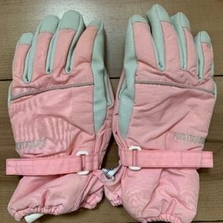 女の子用スキー手袋 120cm