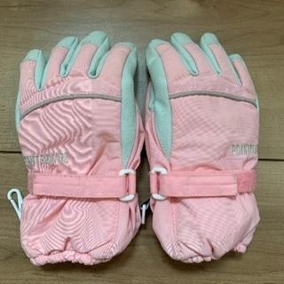 女の子用スキー手袋 100cm