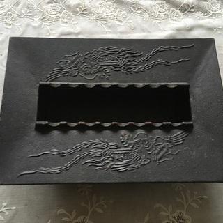 南部鉄器 灰皿 23×16×5cmくらい 未使用 社名入り
