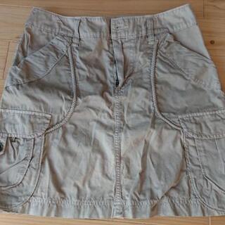 [再値下げ]ベージュのスカート