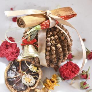 12/5(木)クリスマスの香り! フルーツポマンダー作り&クリス...