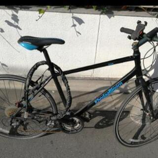 KhodaaBloom クロスバイク(チェーン&スマホスタンド付)