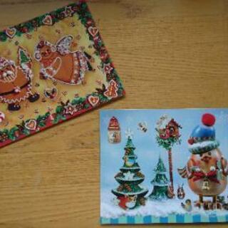 ドイツ クリスマス はがき カード インテリア