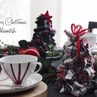 クリスマス準備は手作りで♪「ファブリックツリー作りませんか」