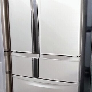 冷蔵庫 6ドア たっぷり収納465L 使いやすいフレンチドア 三...