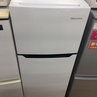 安心の半年間返金保証!Hisenseの2ドア冷蔵庫です!