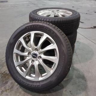 中古タイヤ・ホイールセット 185/65R15 ホンダフィットに使用してました。の画像