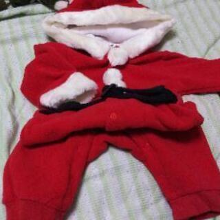 【値下げしました】クリスマス ベビー服70サイズ