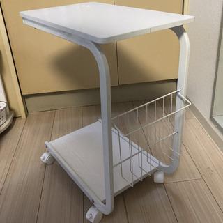 サイドテーブル 白 先月購入 amazon4380円