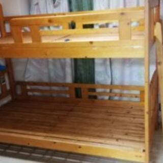 二段ベッド 2台まとめ無料