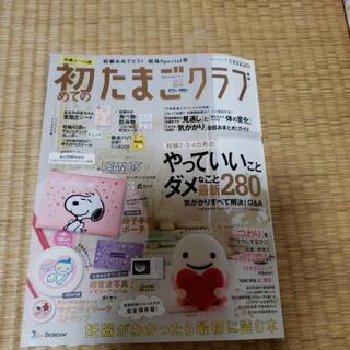 無料2019秋号 初たま本と母子手帳ポーチと、マタニティマークス...