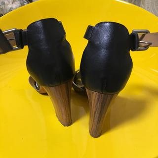 サンダルパンプス24.5 - 靴/バッグ