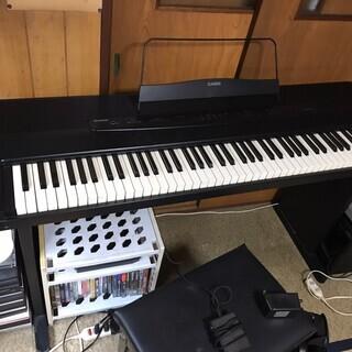 美品 電子ピアノ カシオ CDP300 CASIO 88鍵盤 直...