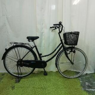 中古自転車 26インチ ファミリーサイクル ママチャリ 黒