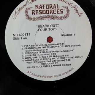 Four Tops - Reach Out フォートップス リーチアウト LPレコード US 再販盤 中古 − 神奈川県