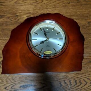 citizen quartz シチズン クォーツ カエデ材 置時計