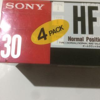 SONYカセットテープ30分