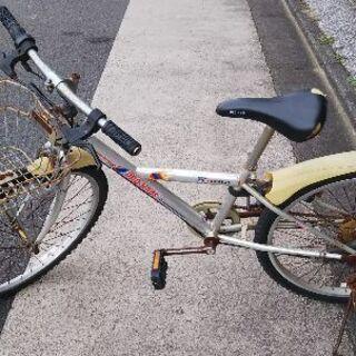 子供用自転車 24インチ 難あり