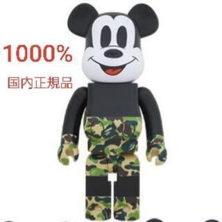 BE@RBRICK 1000% MICKEY MOUSE green