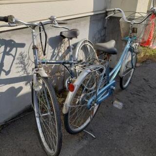 【決まりました】自転車無料2台