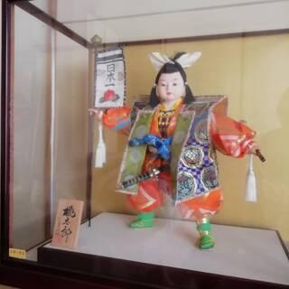 五月人形 桃太郎 引き取り限定