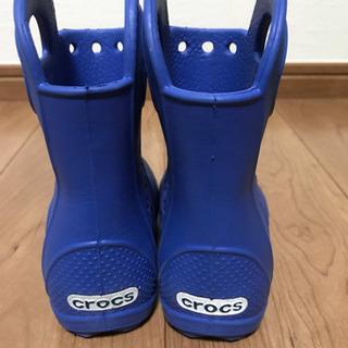 CROCS クロックス 長靴 14cm