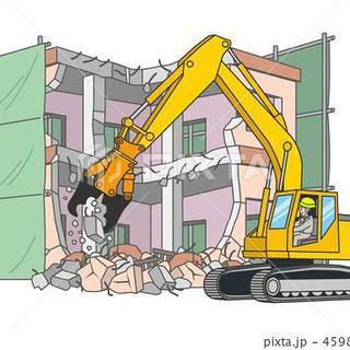 粗大ゴミの処分、建物解体、駐車場整備、伐採 等