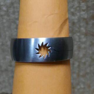 指輪 ステンレス リング  15号      6