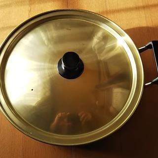 約28cm アルミ両手鍋