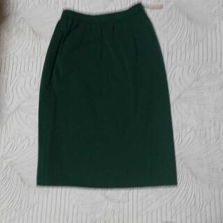 ニットスカート(緑)