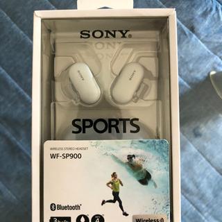 激安新品未使用ワイヤレスイヤホン SONY wf-sp900
